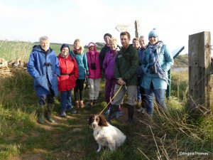 Warden Charlie Wheeler and Volunteers from the Chesil Beach Centre