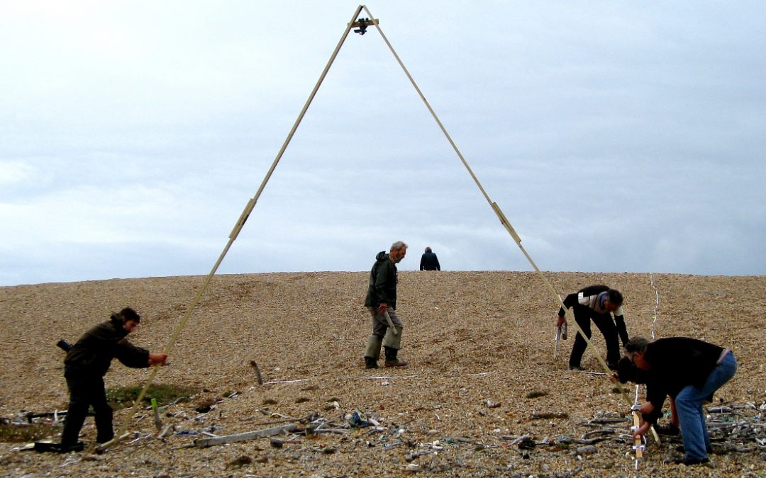 Litter Survey on Chesil Beach by the Fleet Study Group