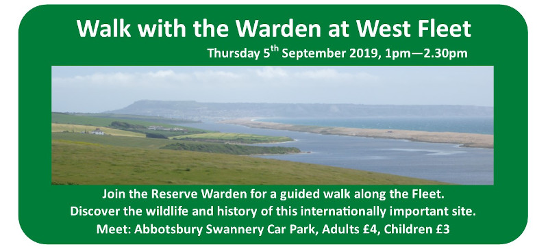 Coming up next week – Walk with the Warden at West Fleet